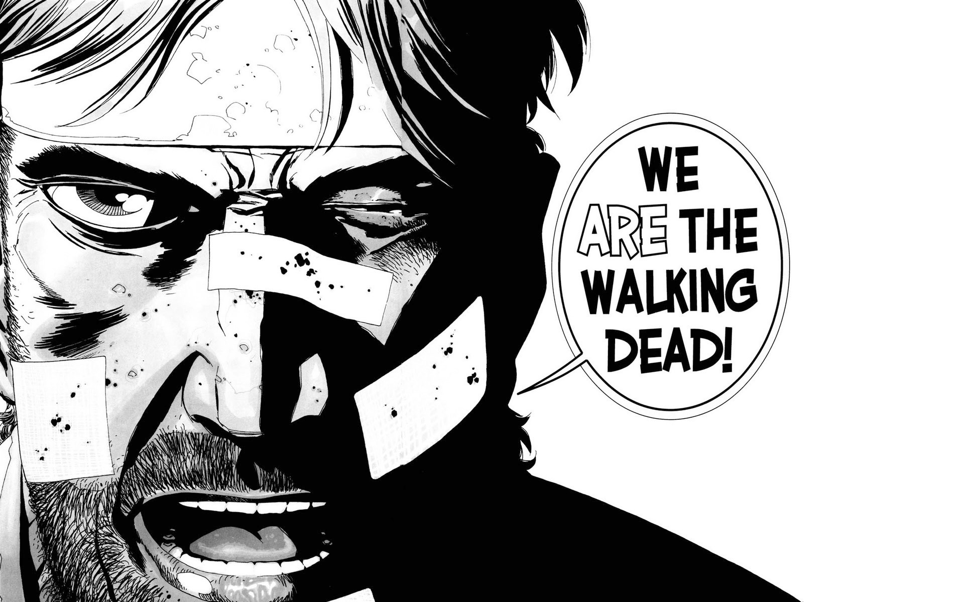 Comics Walking Dead The Manga Rick Grimes Wallpaper