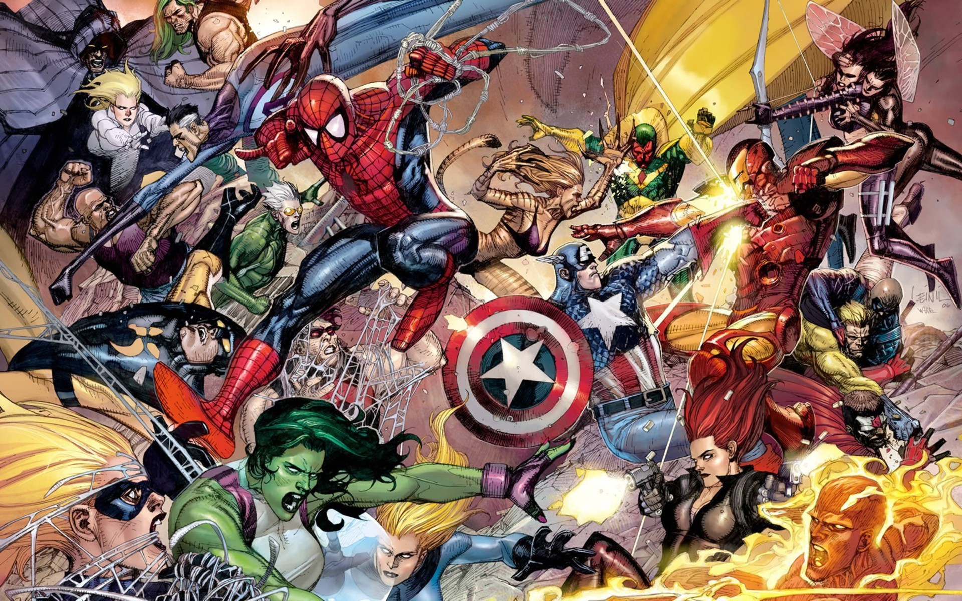 11 Best Hd Wallpapers From The Marvel Universe That You: Civil War Marvel Wallpaper