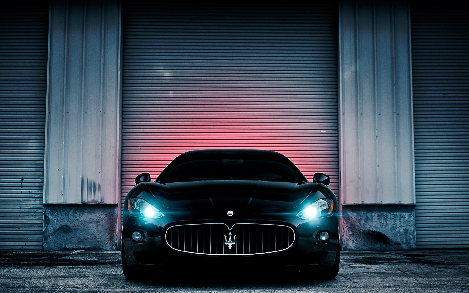 gt maserati black cars luxury sport wallpaper | allwallpaper.in
