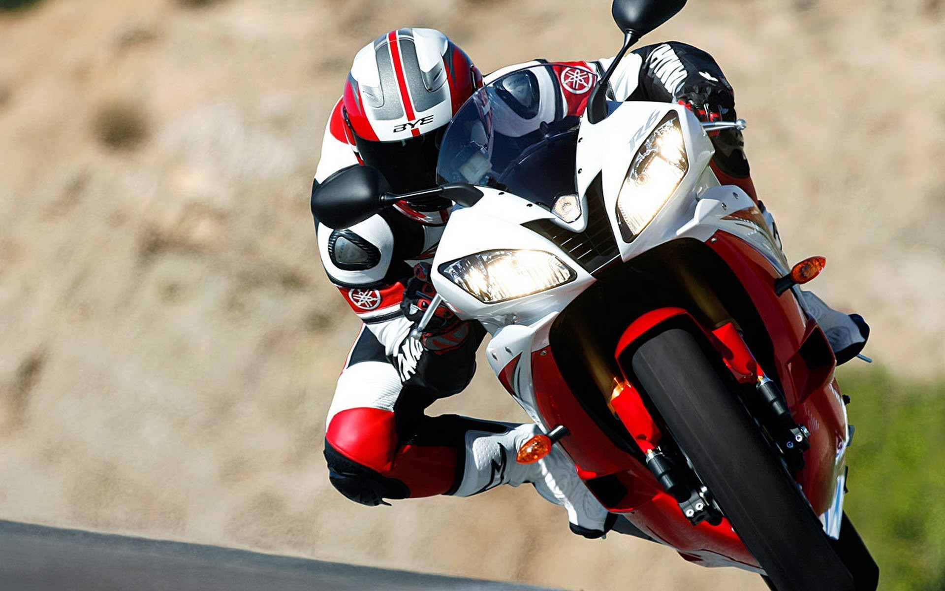 Biker Bikes Motorbikes Motorcycles Racer Wallpaper Allwallpaper In
