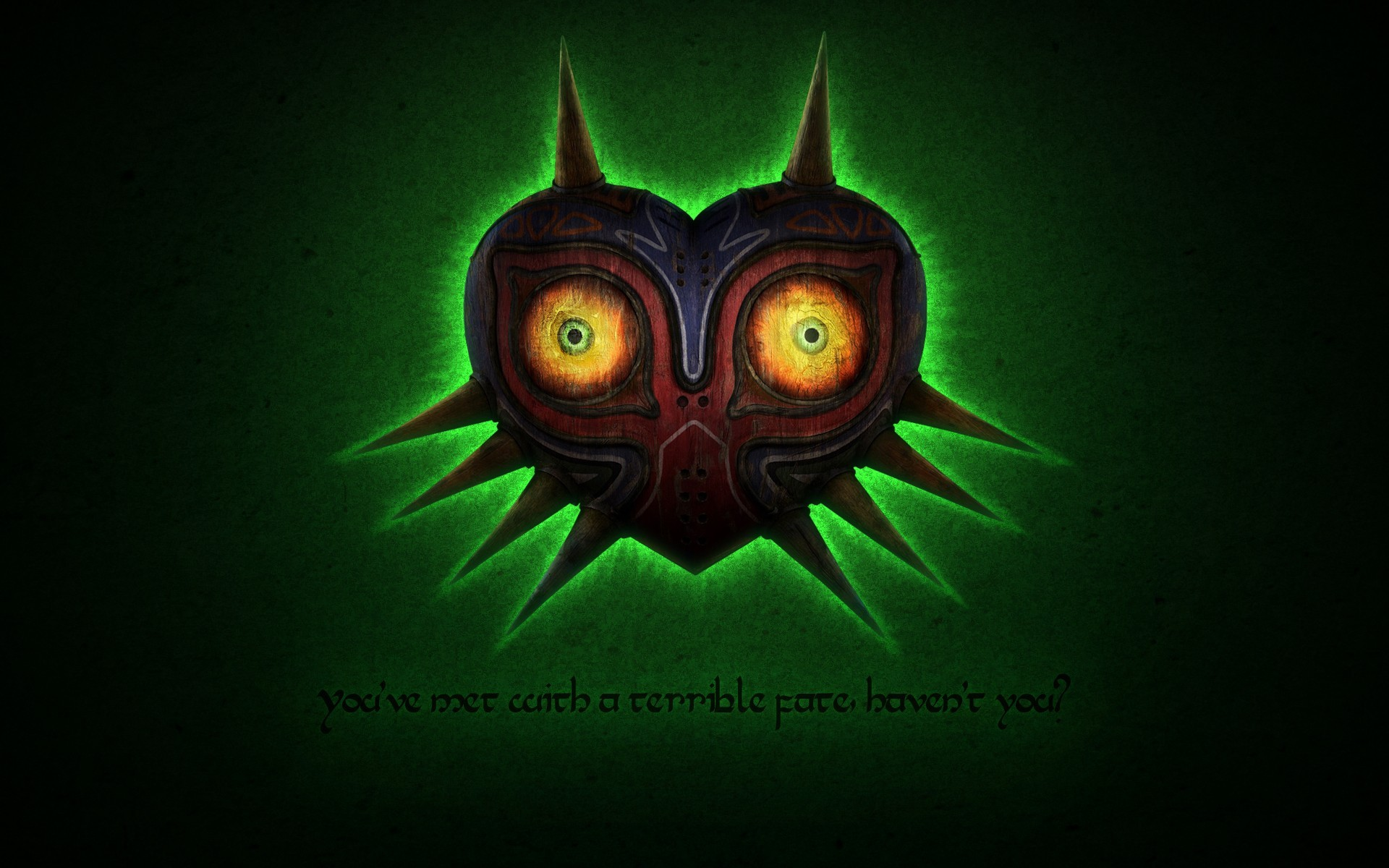 Majoras Mask Glow Skull Kid Zelda Majora Wallpaper