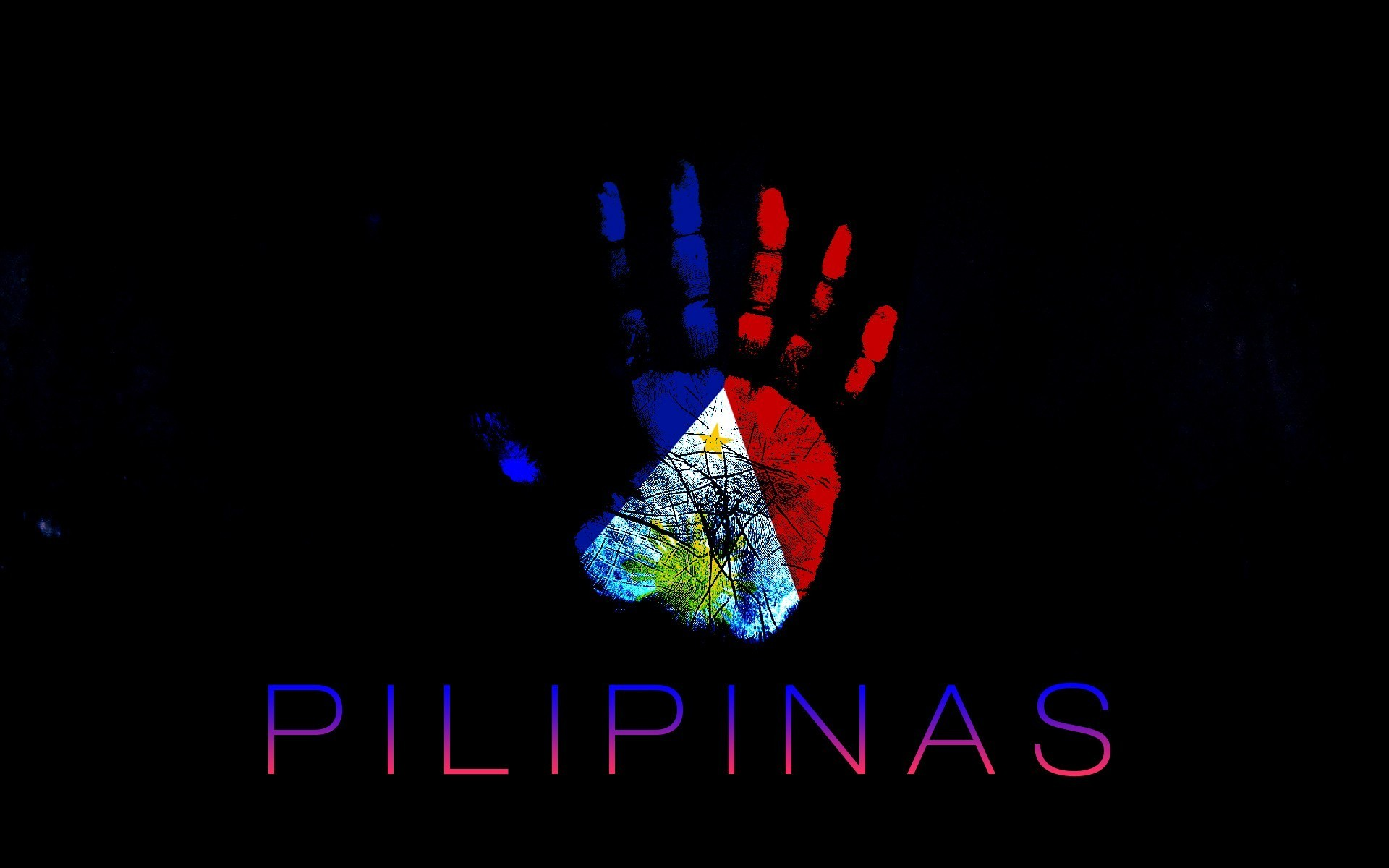 Dndesign Philippines Blue Colored Flags Wallpaper