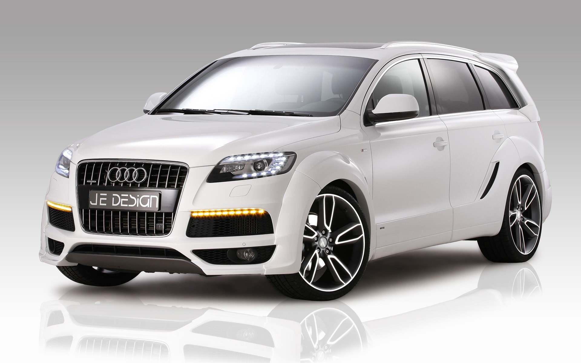 Audi Q7 German Cars Je Design Suv Lights Wallpaper Allwallpaper In