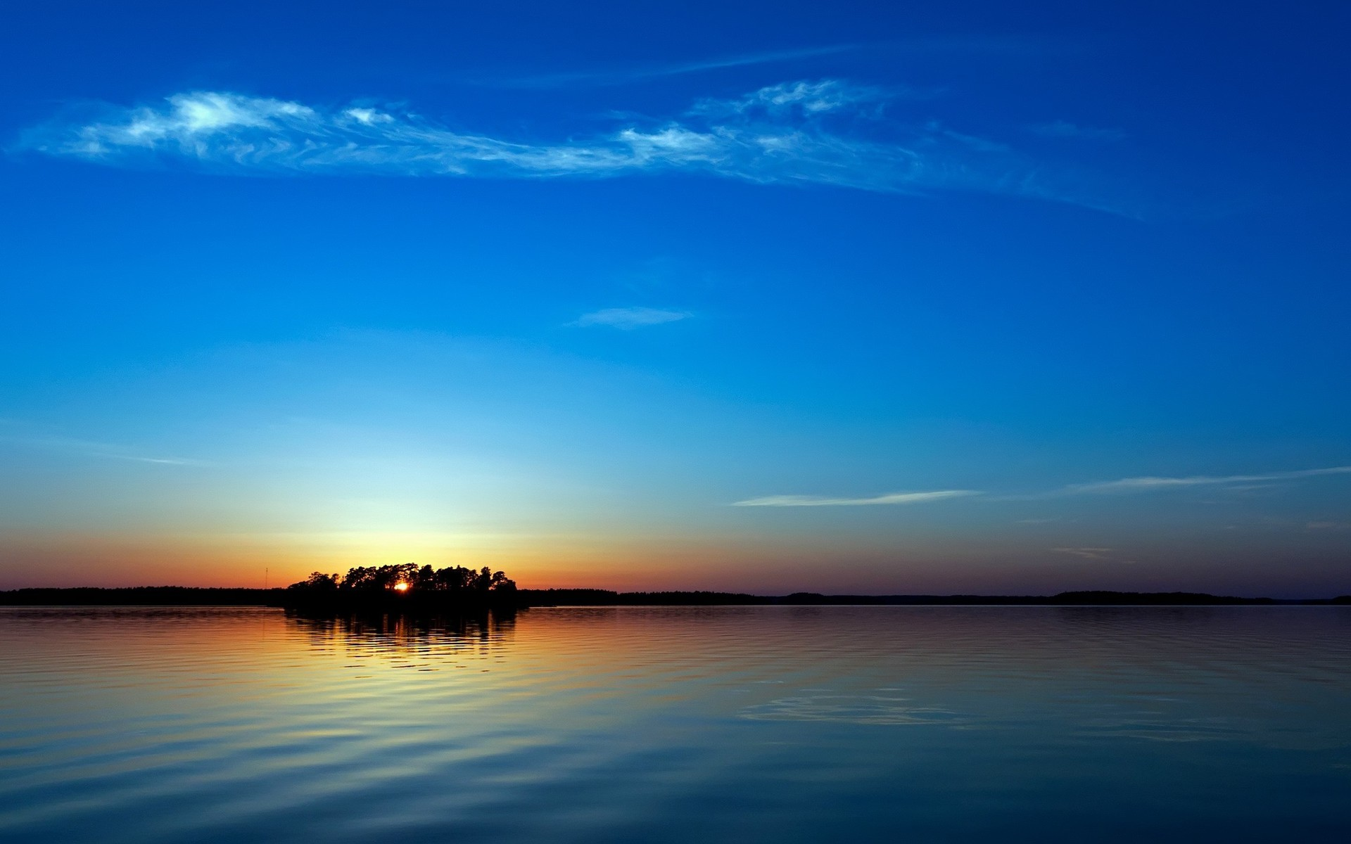 sunset blue nature wallpaper | allwallpaper.in #7034 | pc | en