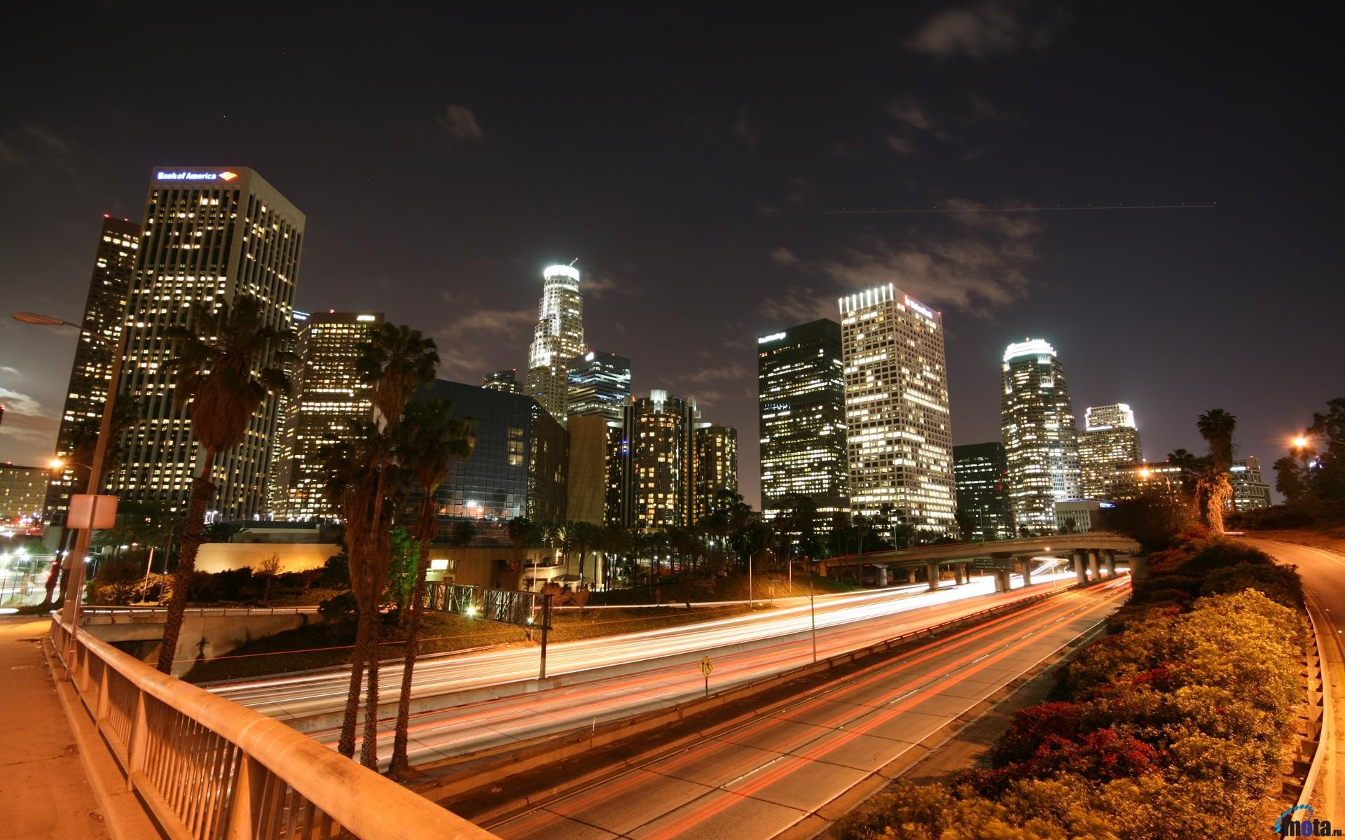 Los Angeles Street Lights Wallpaper Allwallpaperin 7486