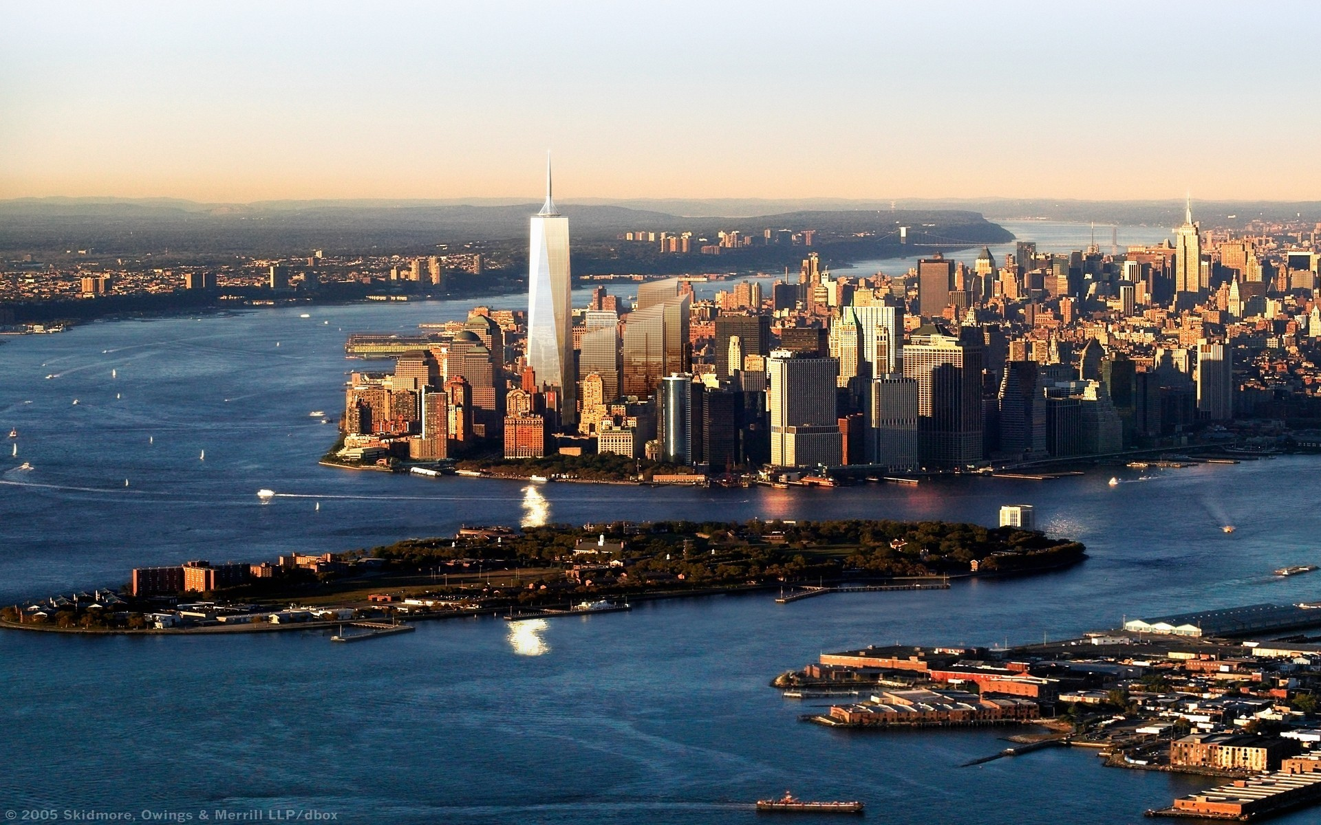 The Future Freedom Tower In Nyc Wallpaper