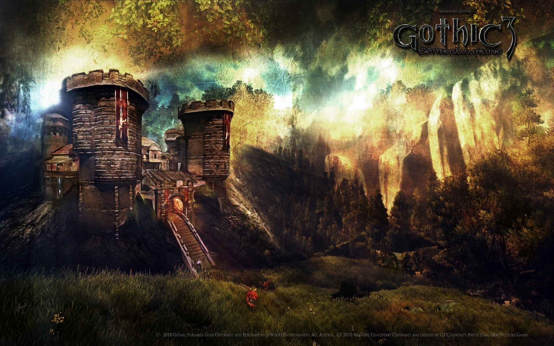 Video Games Gothic 3 Wallpaper Allwallpaperin 9841 Pc En