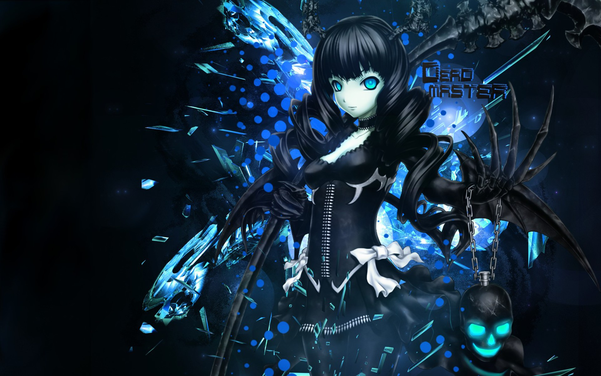 Blue Dead Master Anime Wallpaper