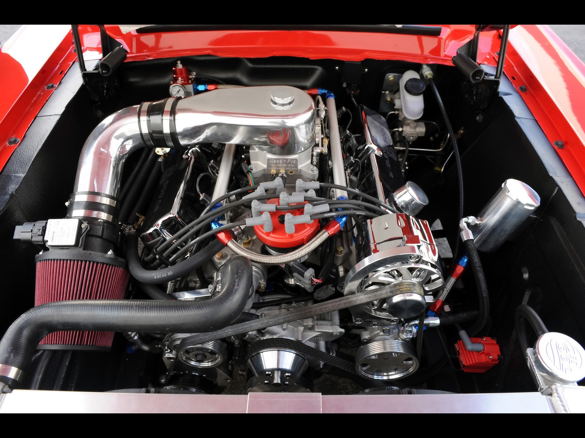 Classic ford shelby v8 engine engines muscle cars wallpaper ...