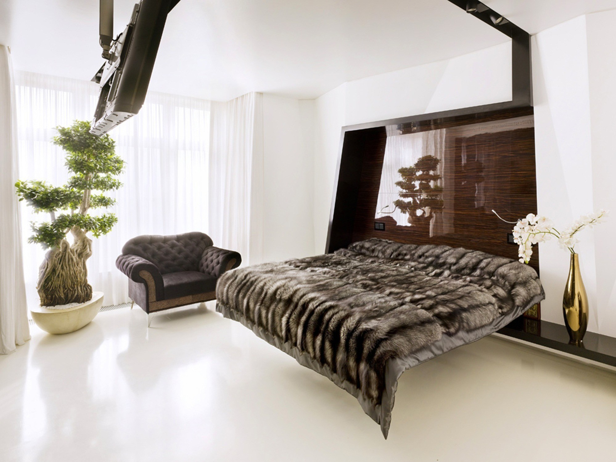 design beds interior wallpaper