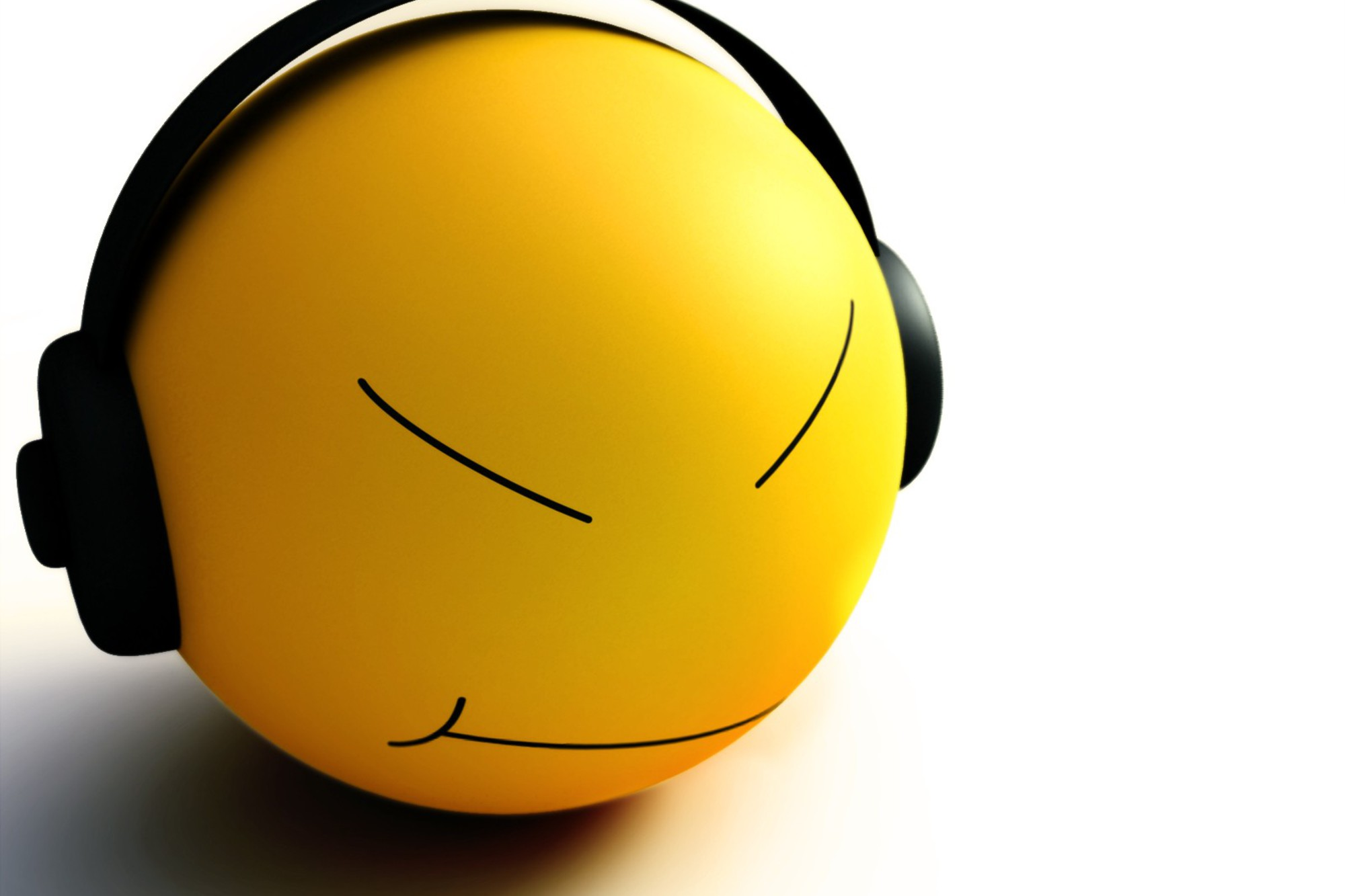 Smiley Music Wallpaper