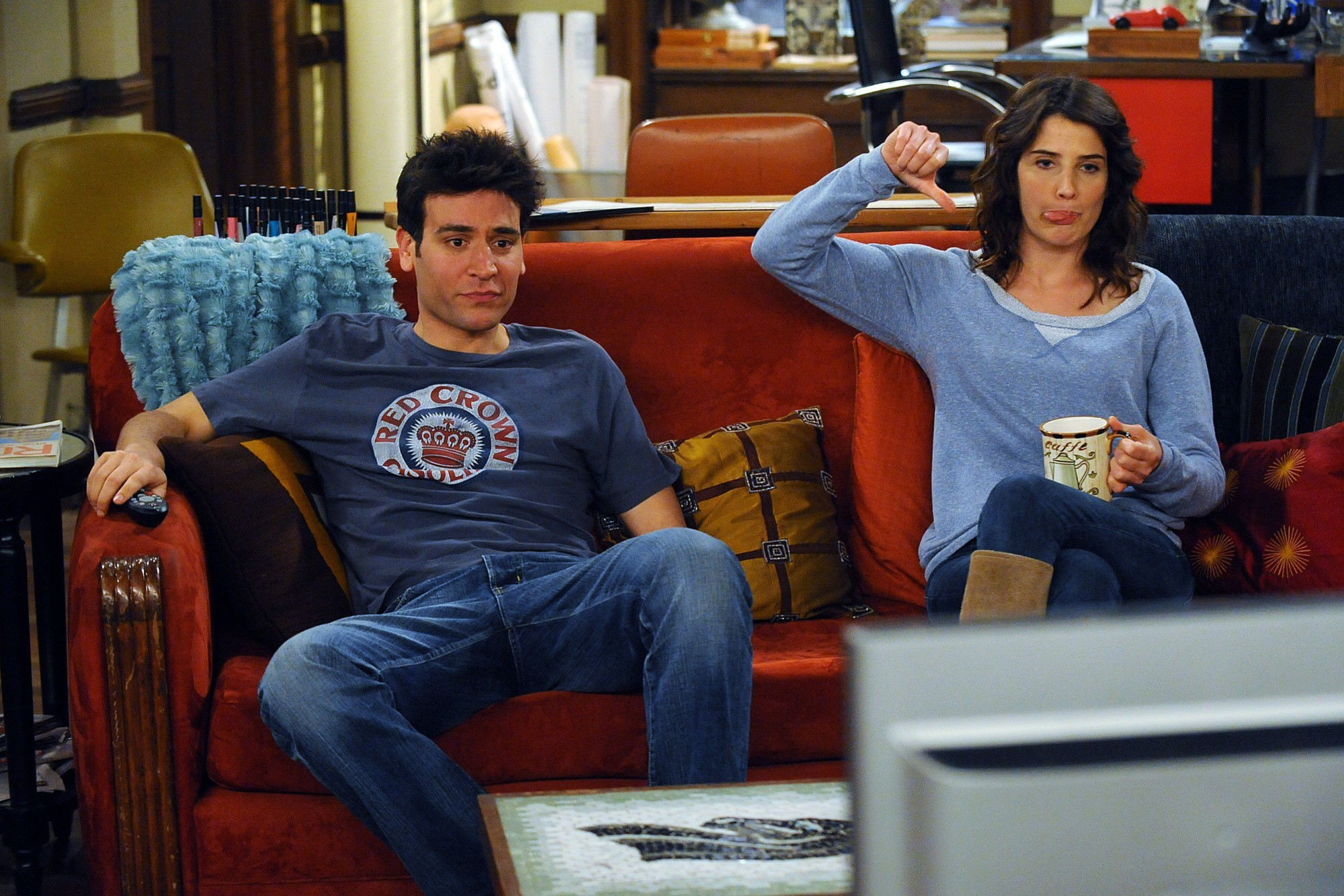 Met Your Mother Robin Scherbatsky Josh Radnor Wallpaper
