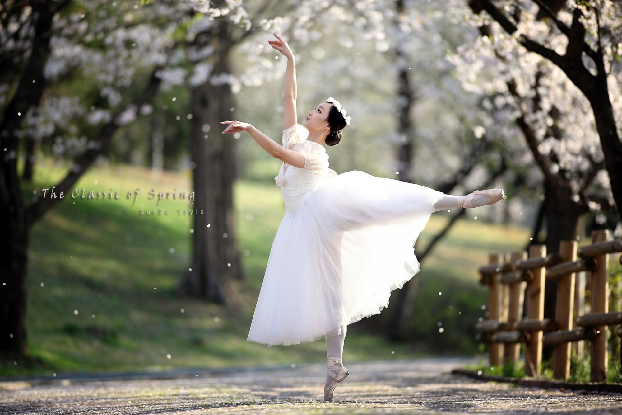 Landscapes spring (season) dancing classic art wallpaper