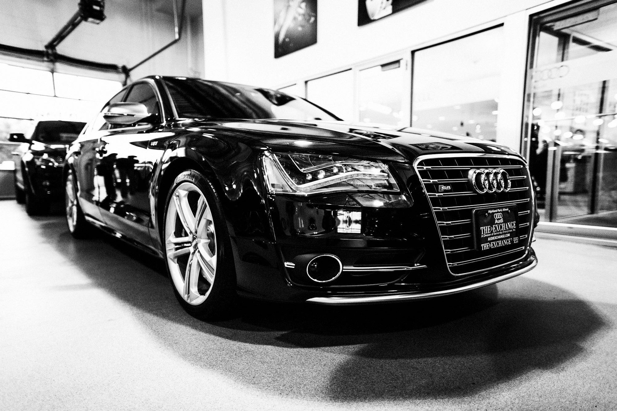 Black and white cars audi a6 wallpaper - Car wallpaper black and white ...