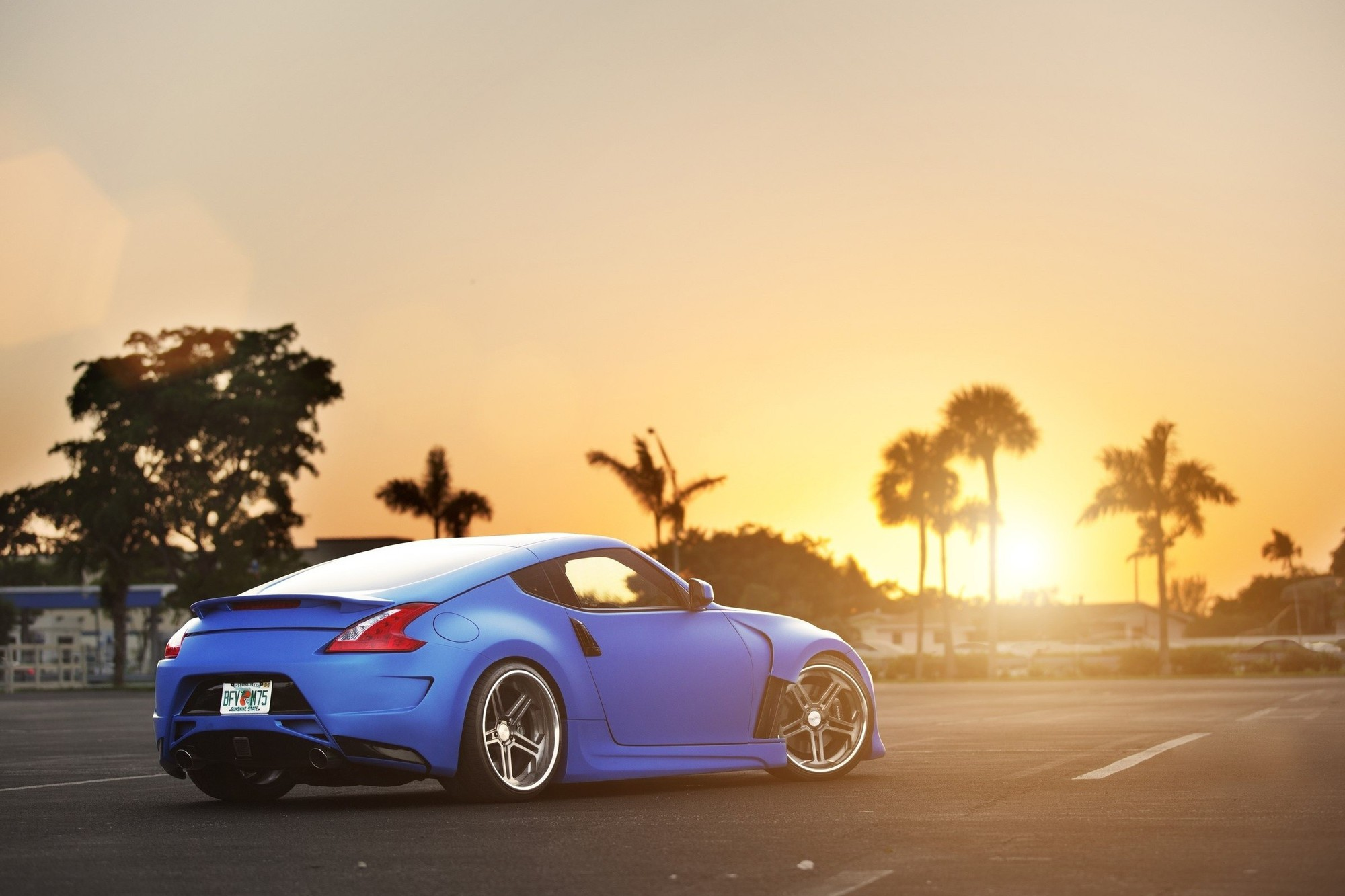 Sunset Blue Nissan 370z Wallpaper Allwallpaper In 16490