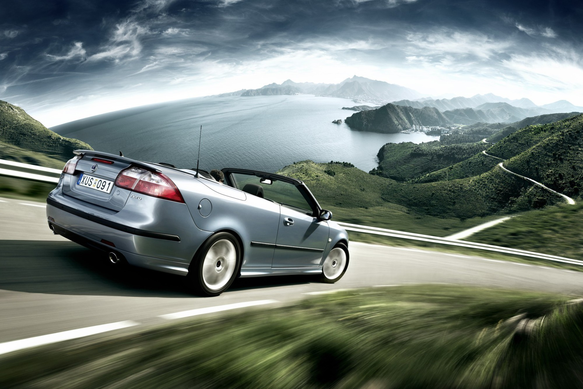 cars saab wallpaper 1920x1200 - photo #2