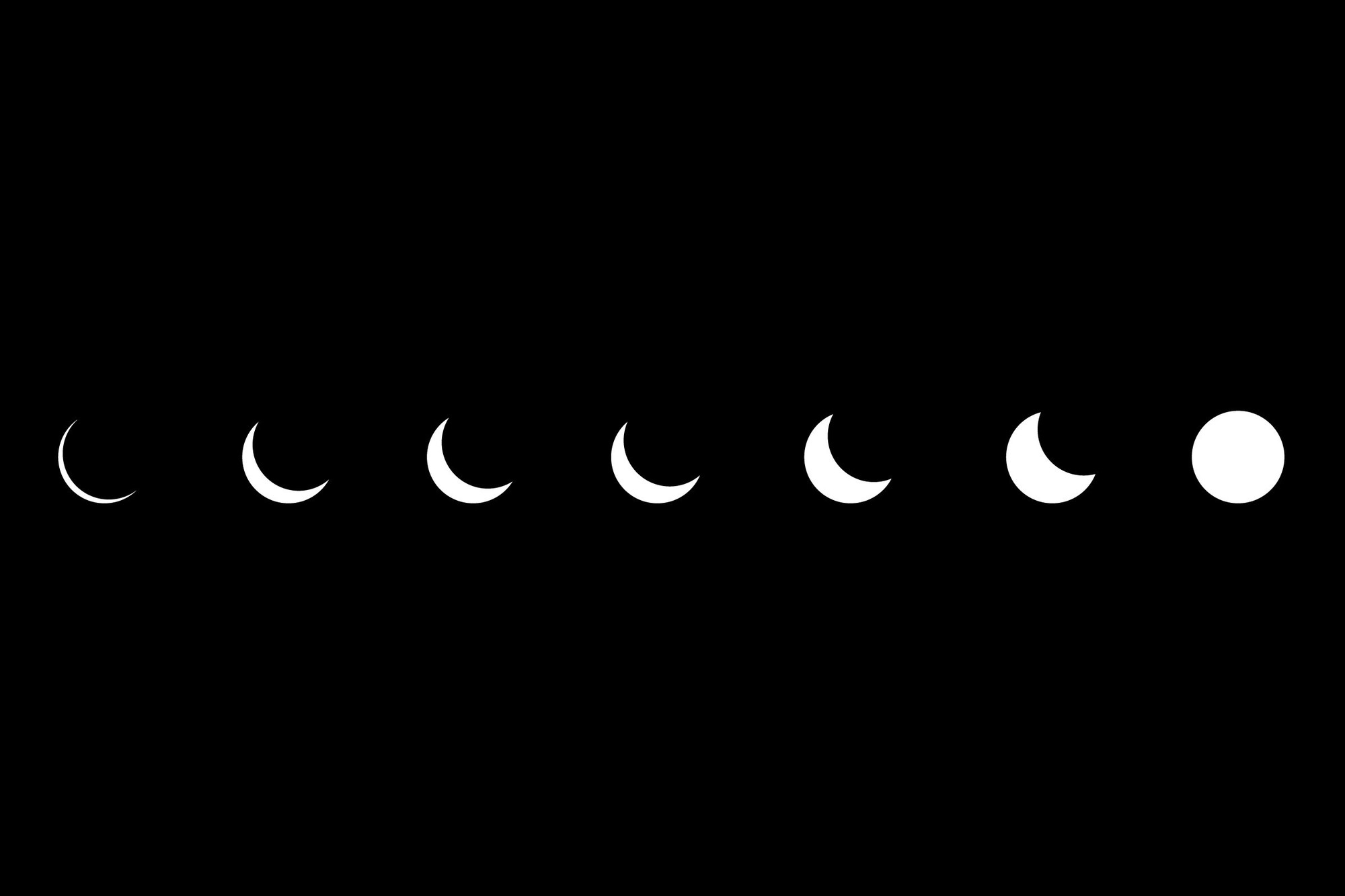 artwork eclipse minimalistic simple wallpaper allwallpaper in 877