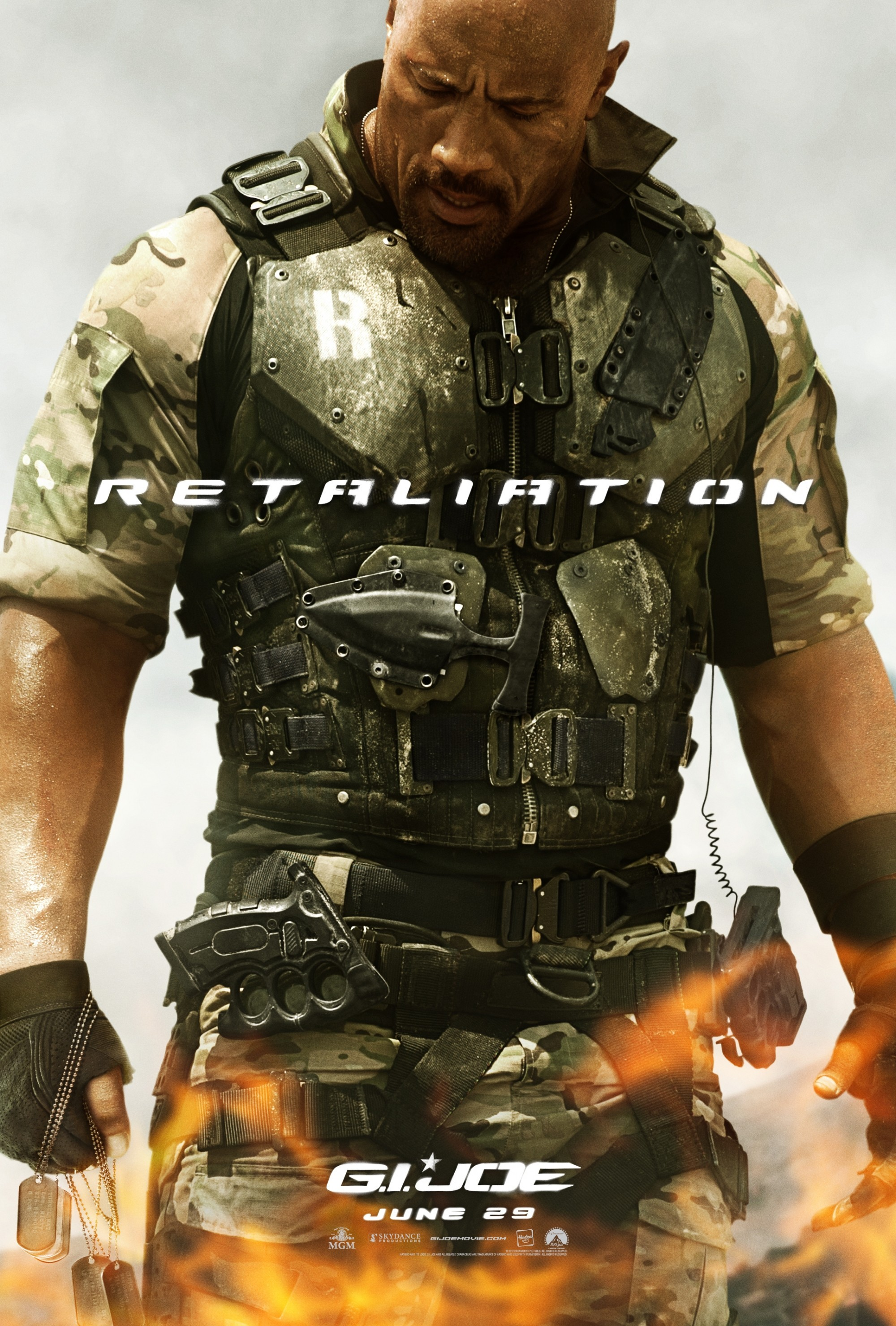 Movie Posters Dwayne Johnson Gi Joe Retaliation Wallpaper