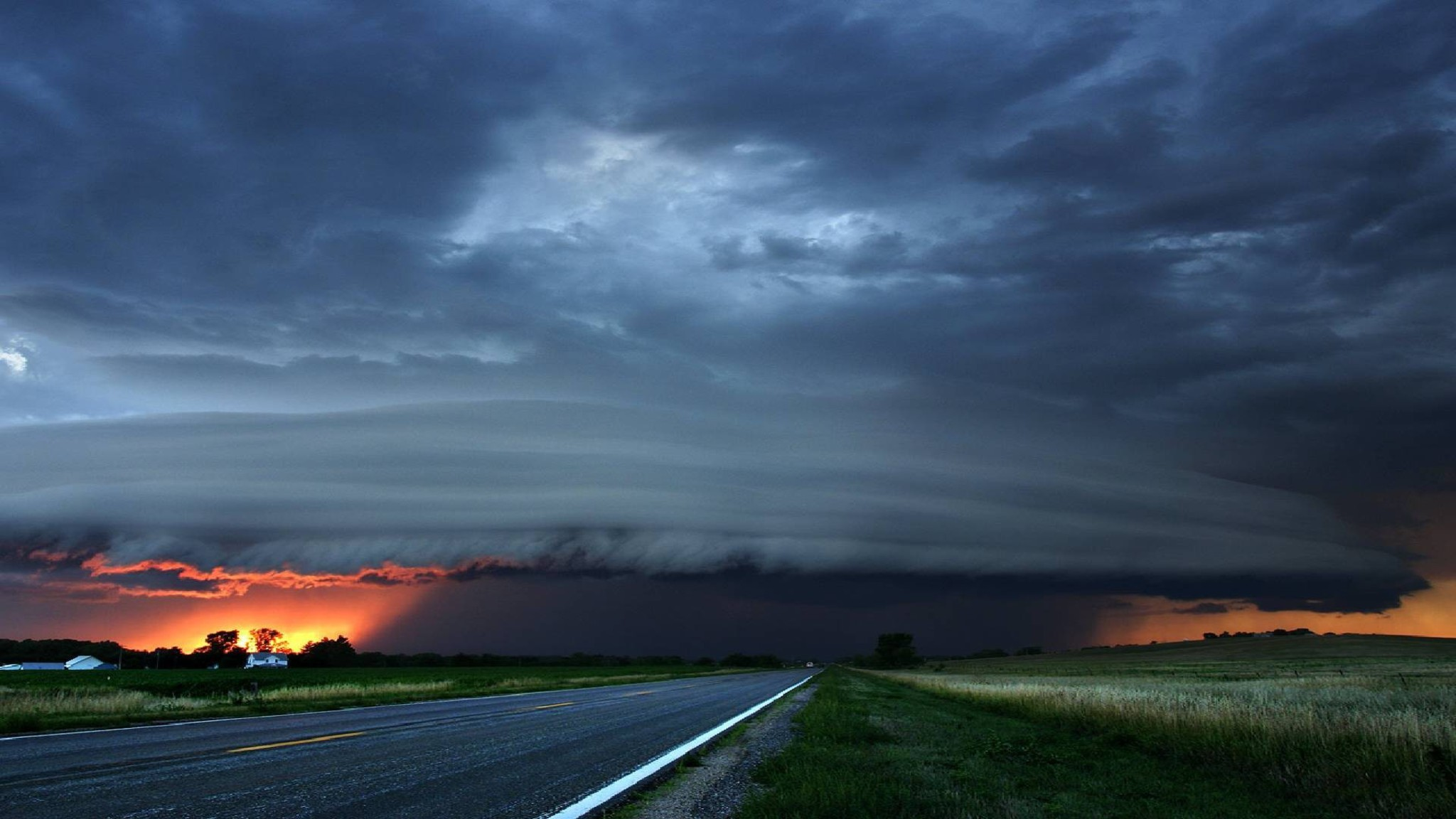 Storm Clouds At Sunset Wallpaper Allwallpaper In 13312