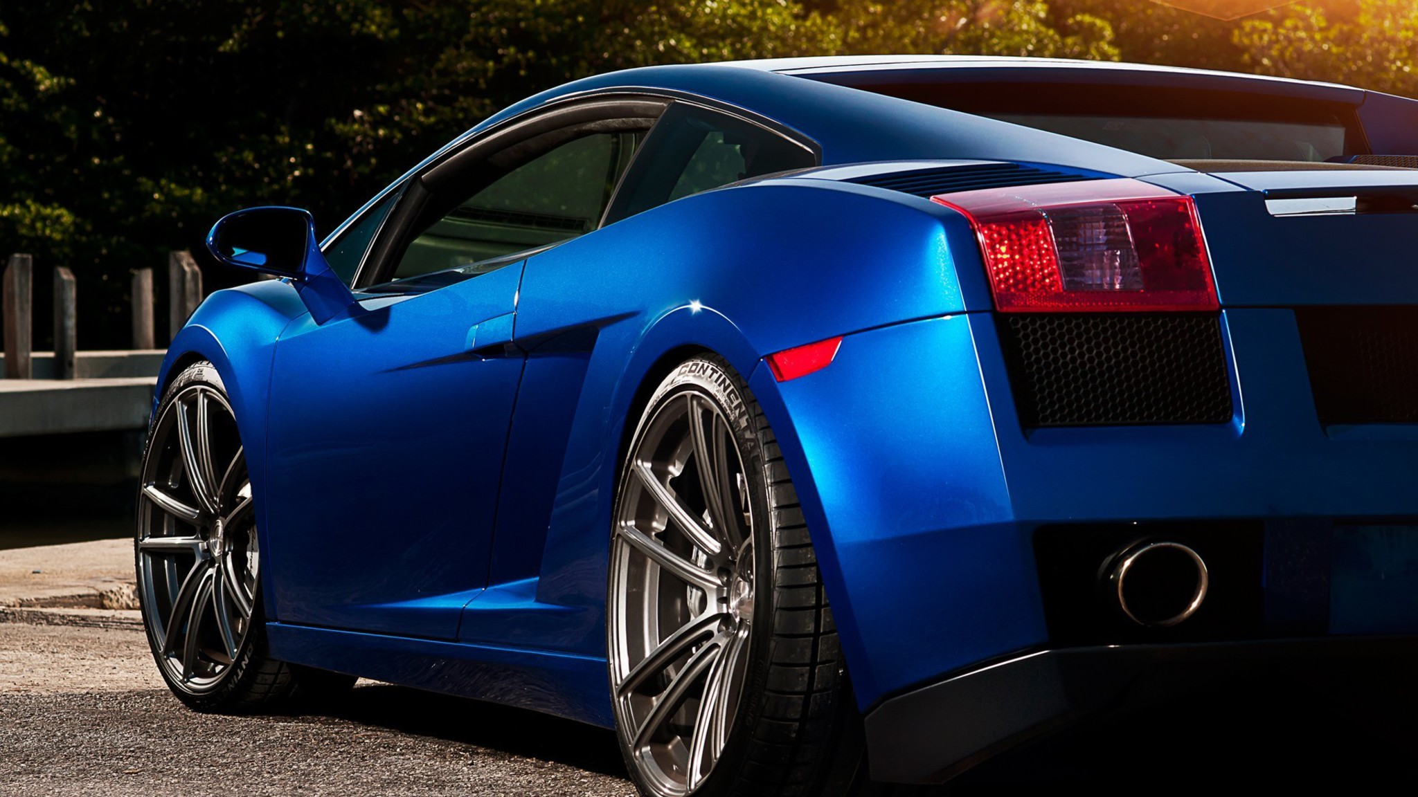 wallpaper resolutions - Lamborghini Gallardo Wallpaper Blue