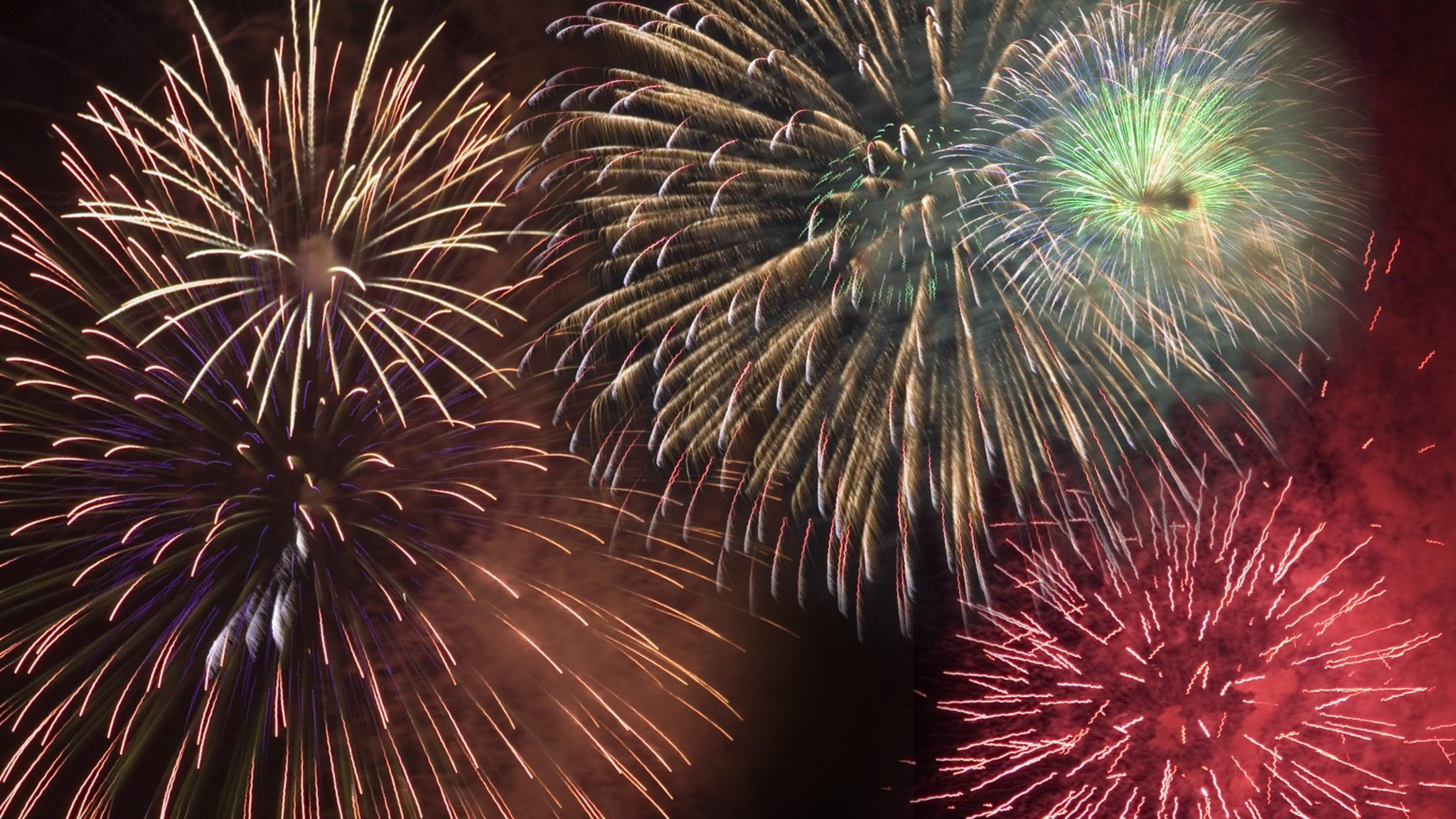 fireworks wallpaper 2048 x 1152 - photo #20