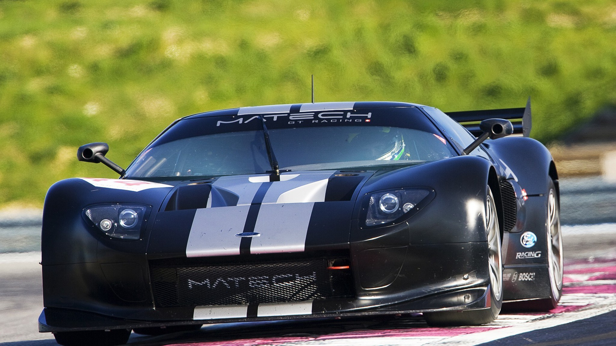 Luxury Vehicle: Ford Gt Racing Matech Automobiles Cars Wallpaper