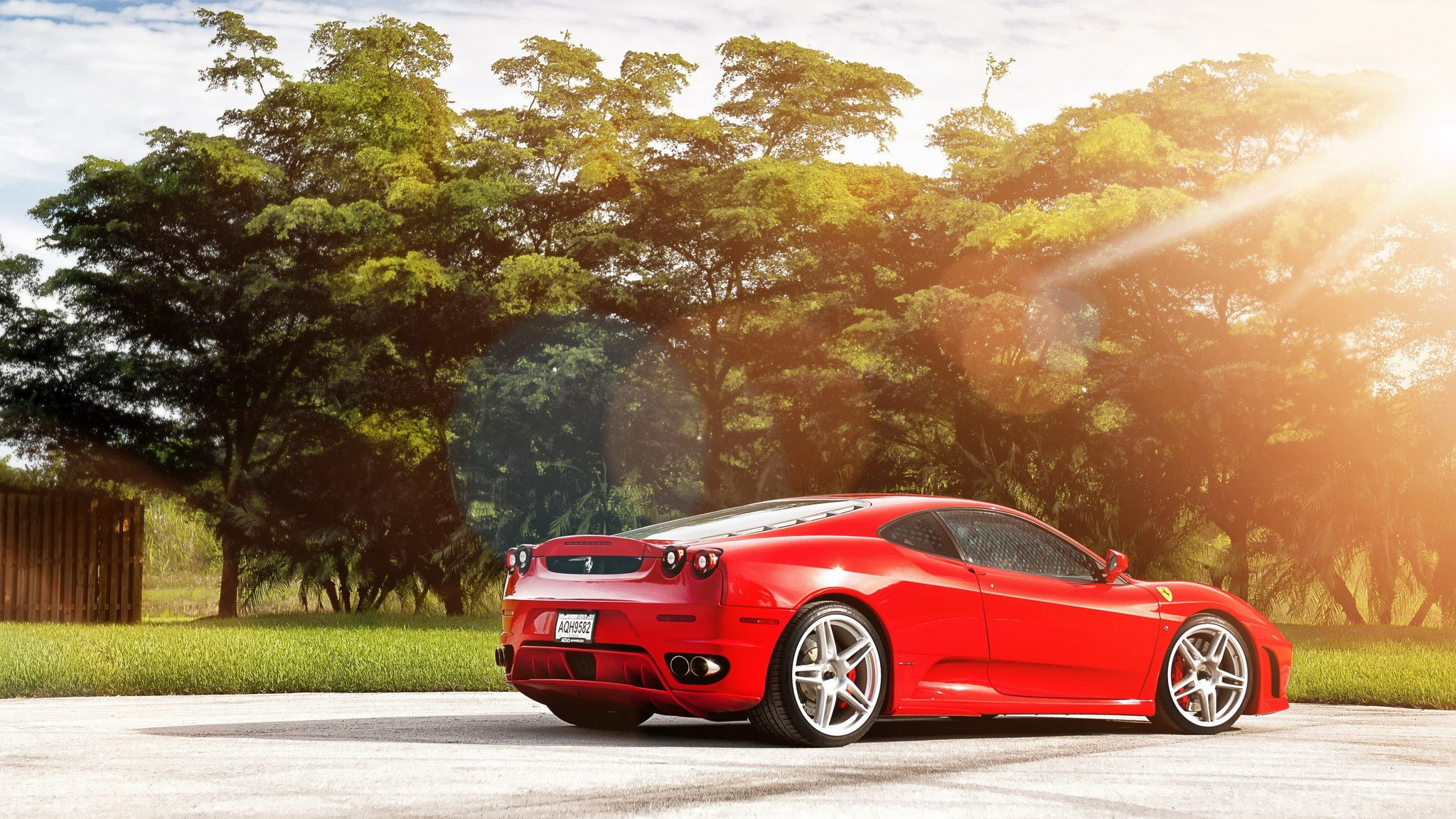 Ferrari Automobiles Cars Speed Transportation Wallpaper