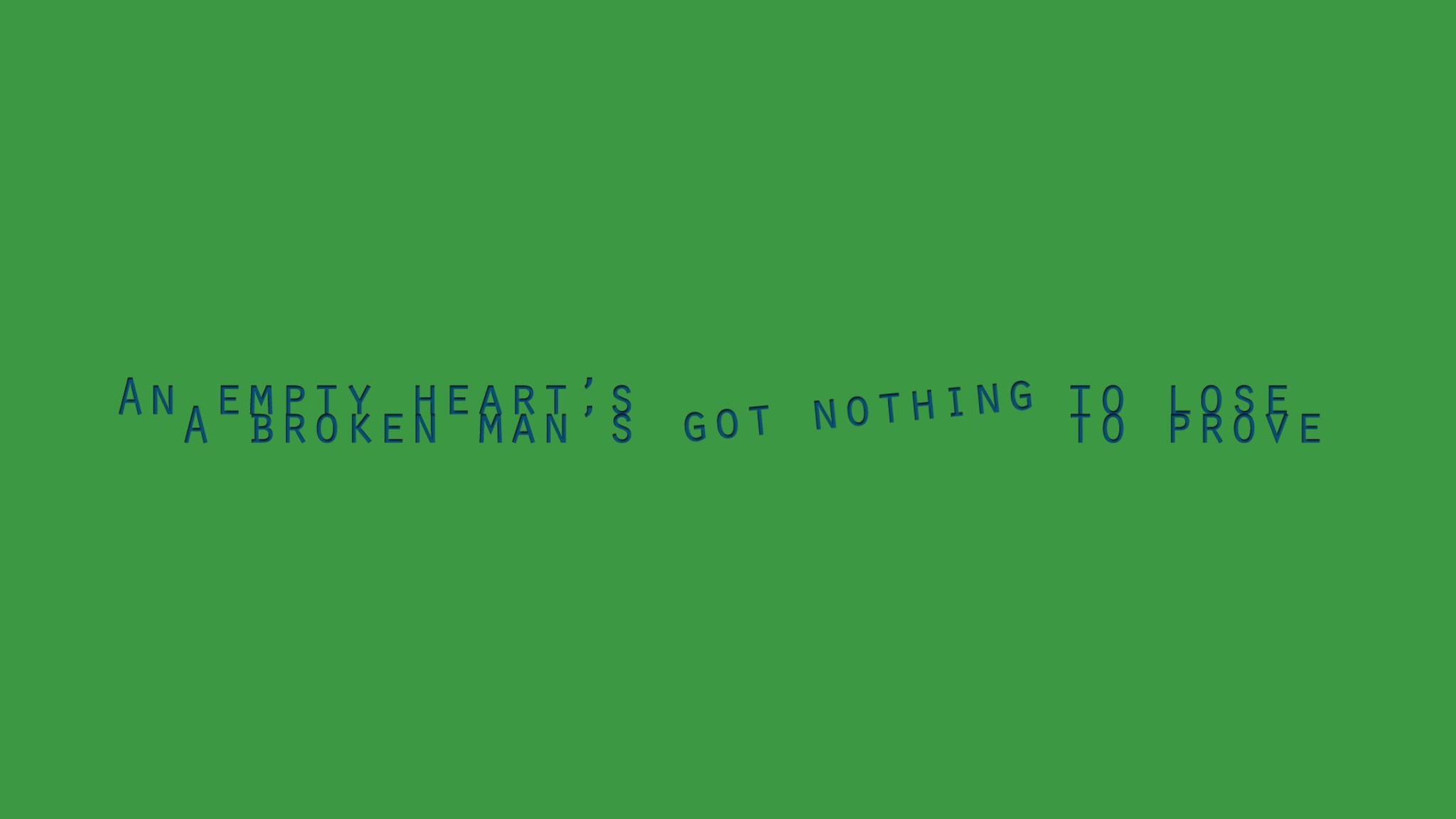 Green hearts poetry sentence lifestyle wallpaper | AllWallpaper.in ...