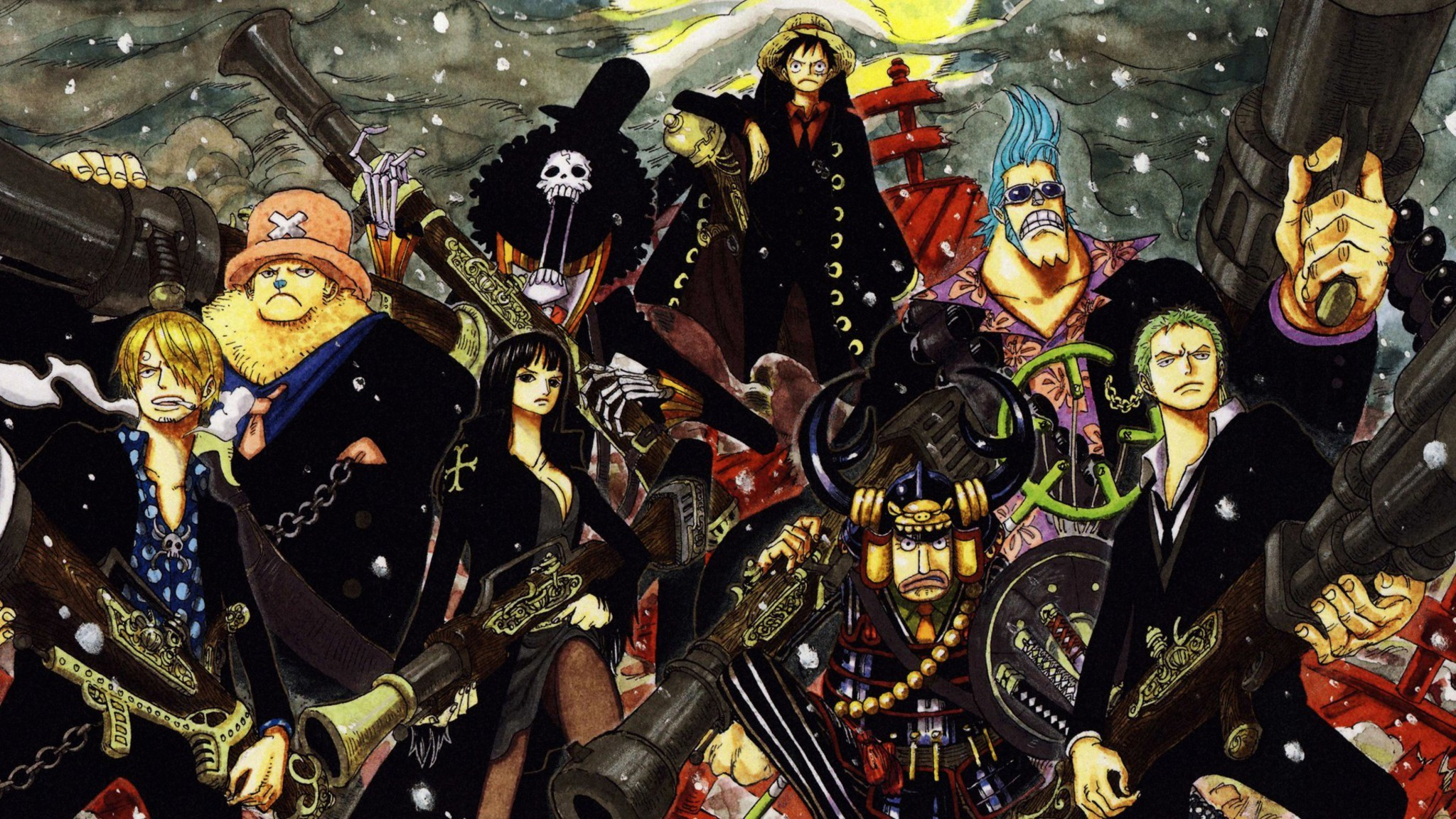 One piece strong world wallpaper 7022 - One piece pictures new world ...