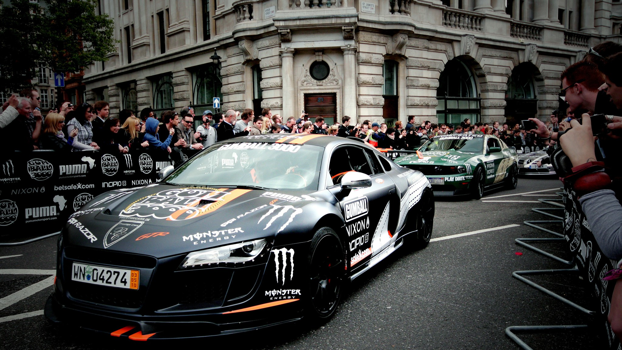 cars sport gumball 3000 line luxury races wallpapers pc hd allwallpaper dslr
