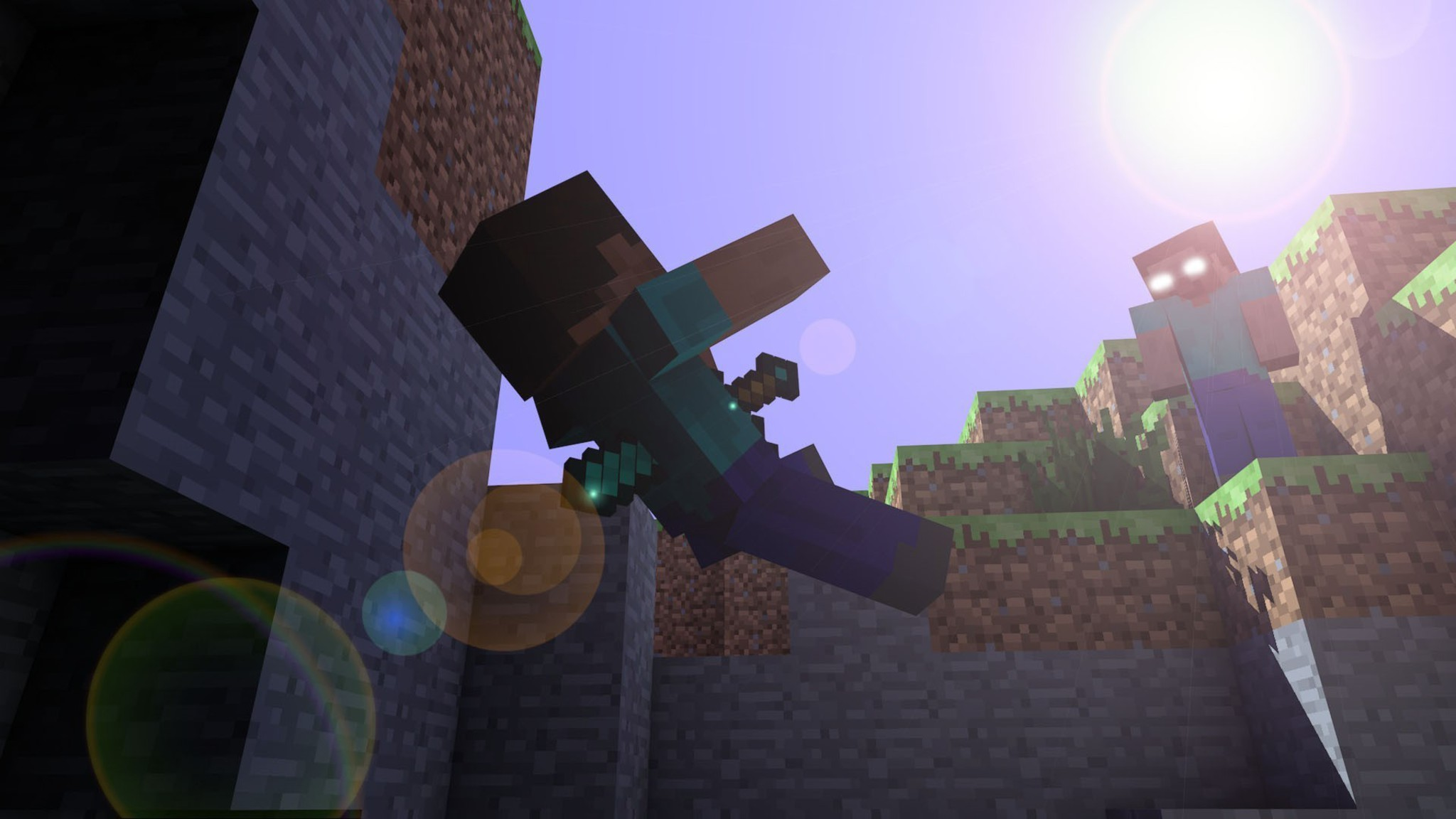 Minecraft Sword Wallpaper Hd minecraft swords wallpaper allwallpaper ...
