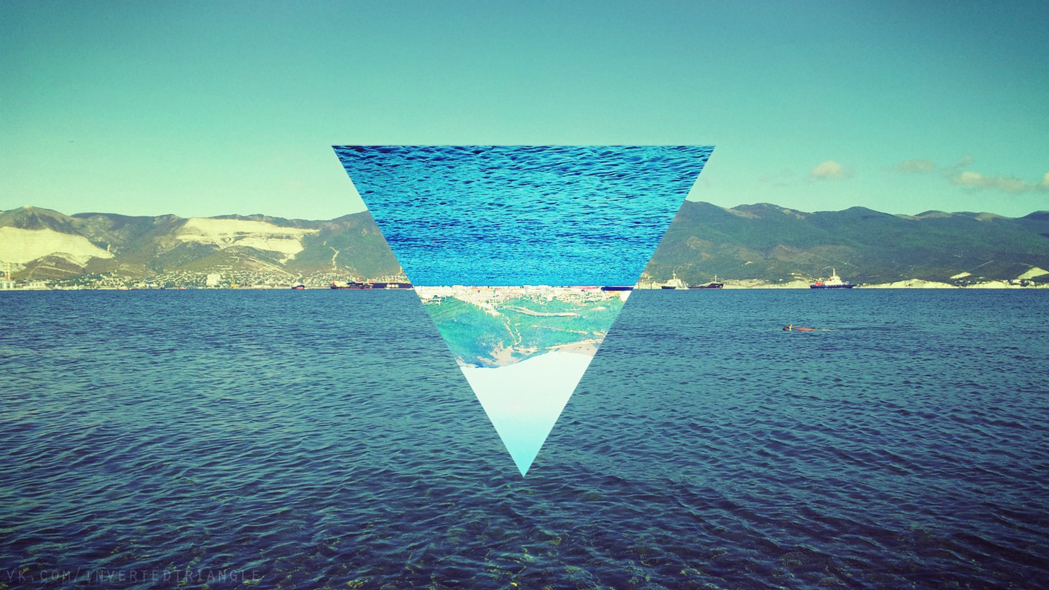 Water nature widescreen sea 72 triangle wallpaper | AllWallpaper.in ...