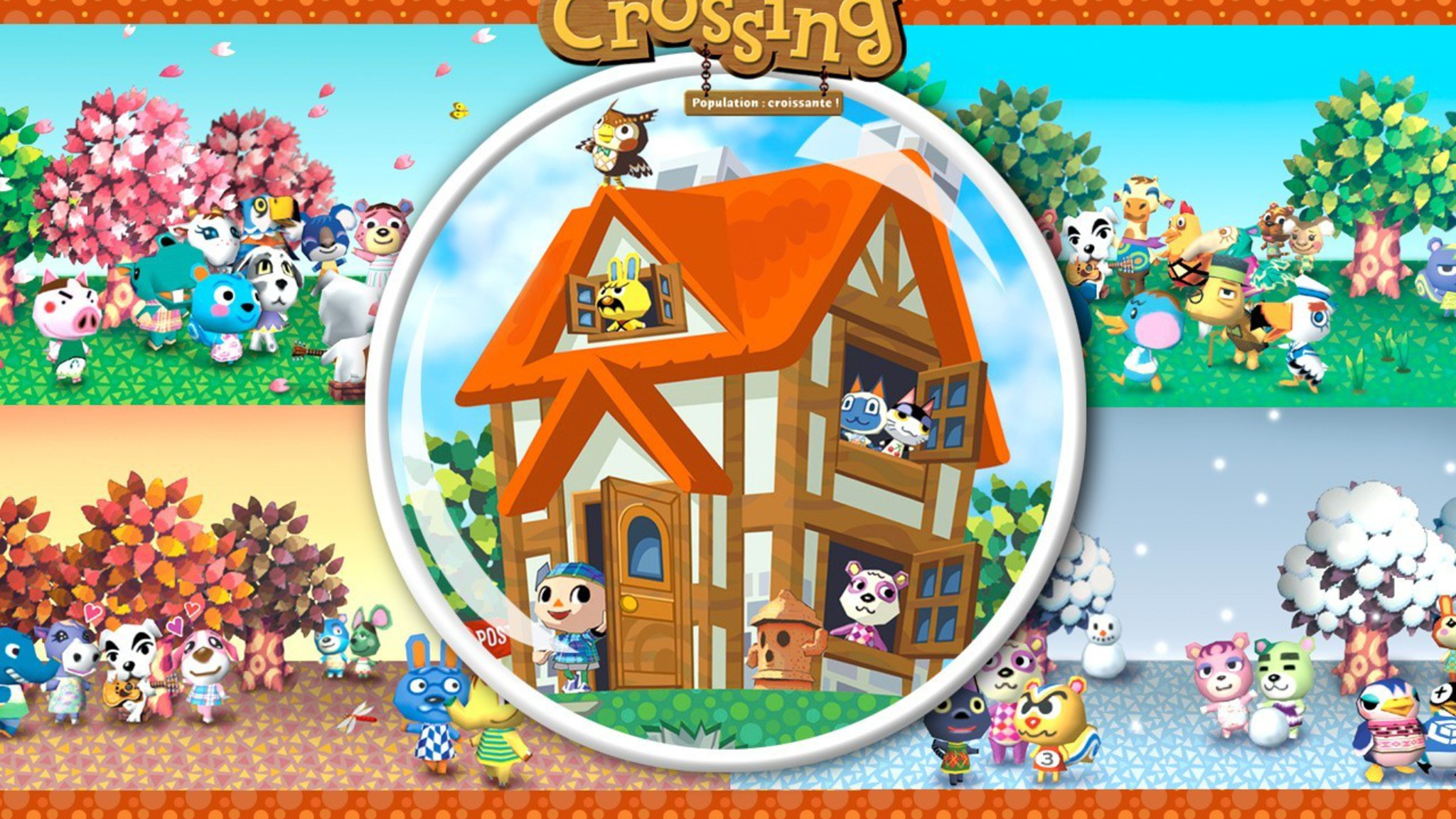 Nintendo gamecube animal crossing wallpaper | AllWallpaper ...