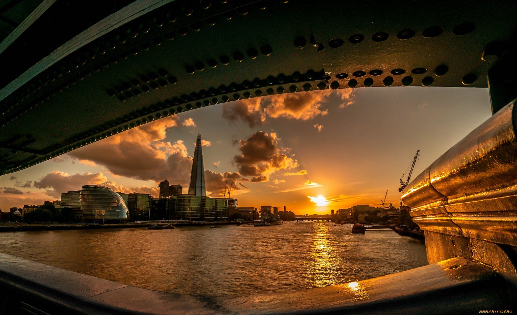 Sunset cityscapes london cities wallpaper allwallpaper for London cityscape wallpaper