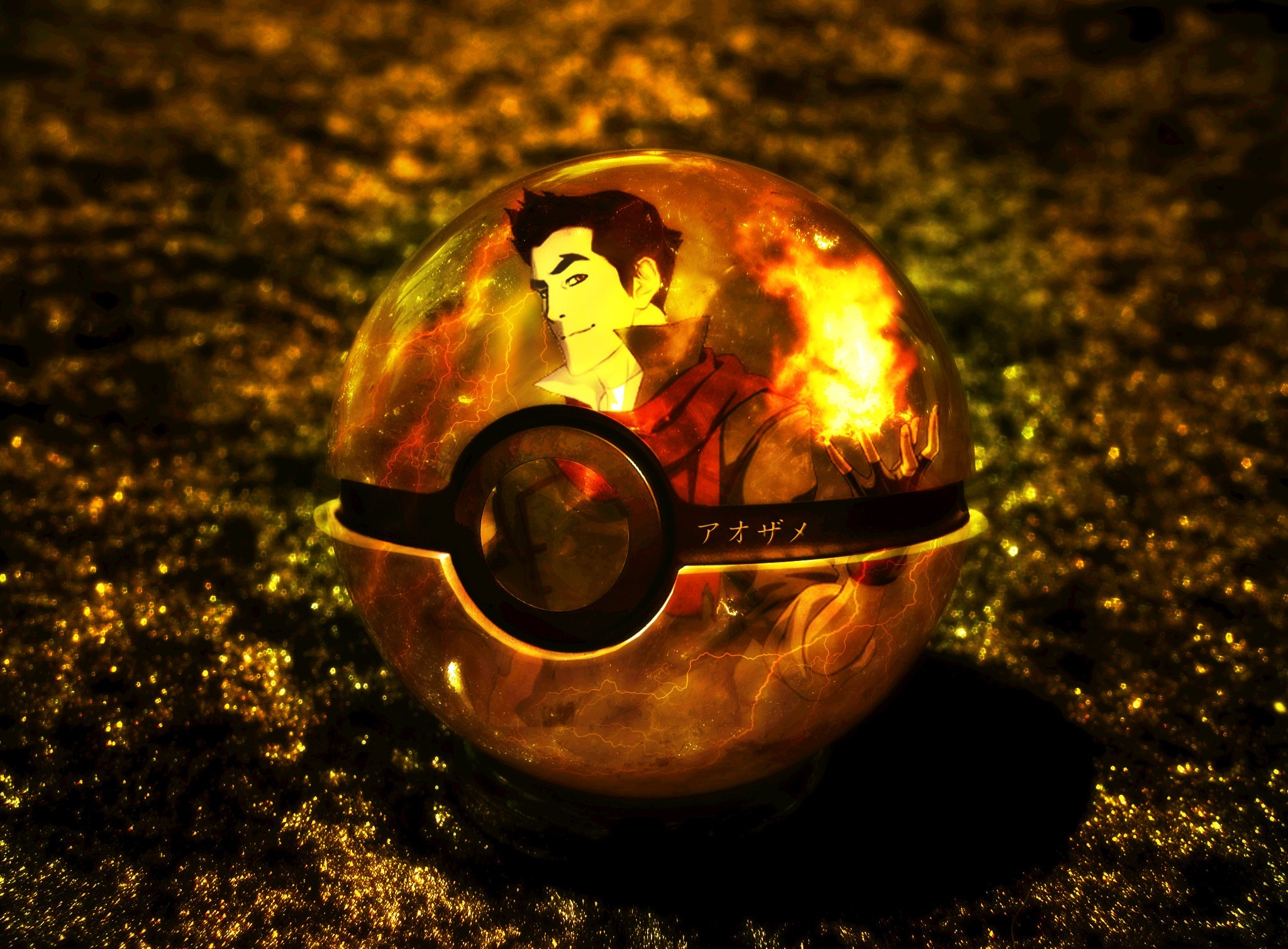 Digital Art Artwork 3d Fan Mako Pokeball Wallpaper Allwallpaper In