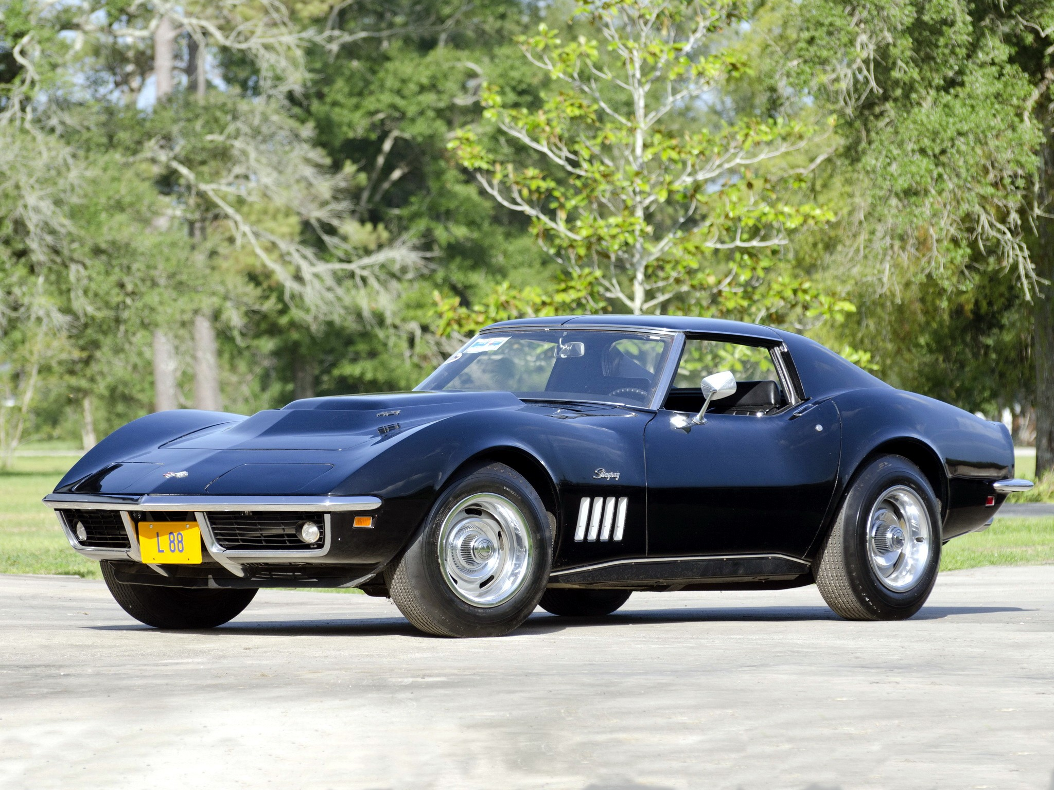 427 Corvette Stingray Wallpaper