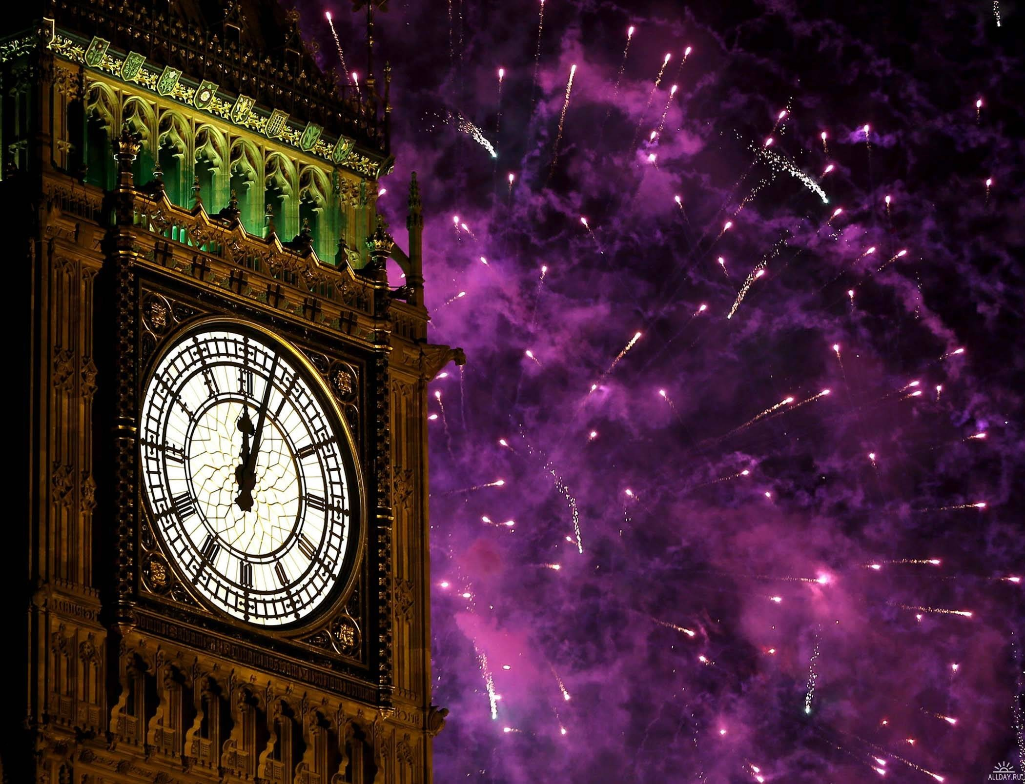 big ben new year wallpaper