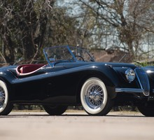 Jaguar родстер XK120  HD wallpaper