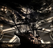 Ghost of the Caribbean  HD wallpaper