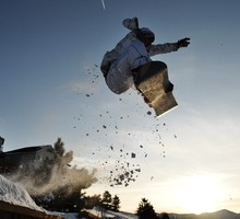 Neige de snowboard saut  HD wallpaper