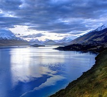 Mountains landscapes new zealand lakes HD wallpaper