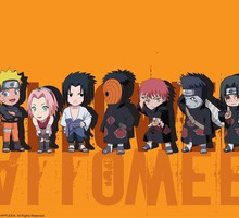 Sasori gaara Uzumaki Naruto tobi orange Hintergrund  HD wallpaper