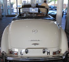 Mercedes 300 s roadster HD wallpaper