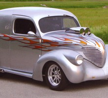 1937 Willys седан devlivery  HD wallpaper