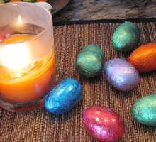 Easter chocolate HD wallpaper
