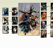 Dc comics justice league of america HD wallpaper