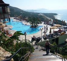 Beach holidays hotels utopia world hotel alanya mahmutlar HD wallpaper