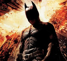 Superheroes christian bale the dark knight rises HD wallpaper