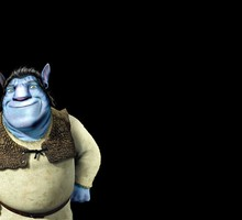 Avatar shrek  HD wallpaper