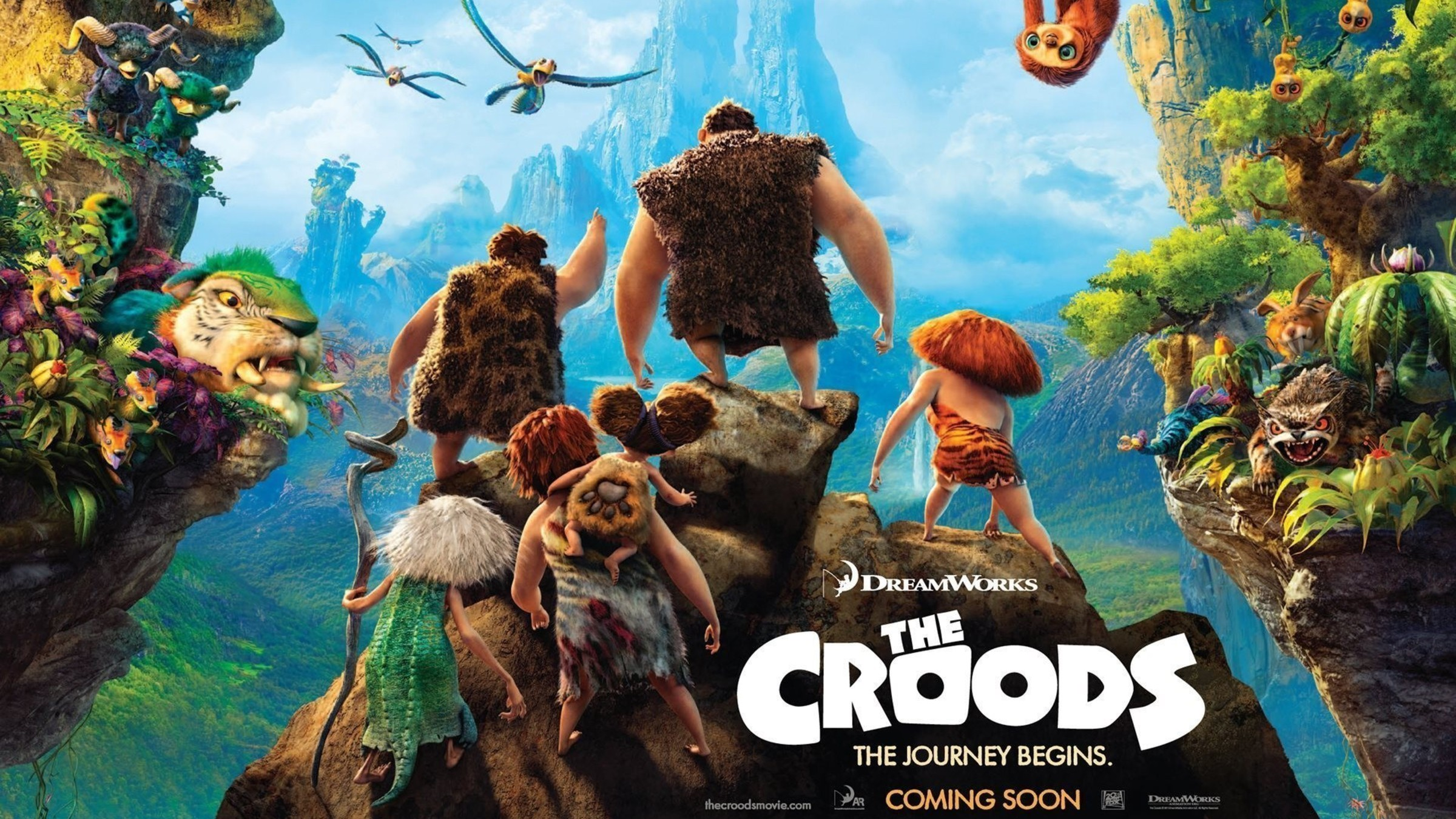Animation the croods wallpaper allwallpaper 10666 pc en hd 169 2400x1350 2048x1152 voltagebd Choice Image